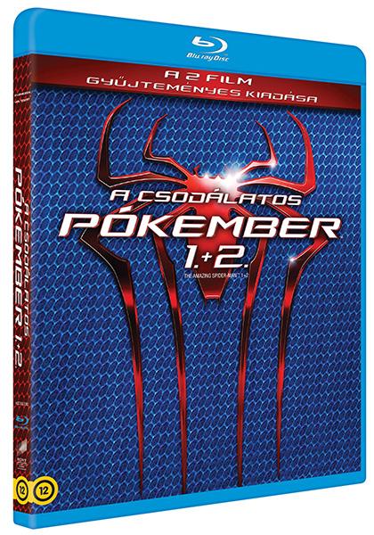 A csodálatos pókember 1-2. (2 Blu-ray)
