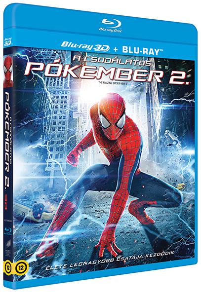 A csodálatos pókember 2. (3D Blu-ray + Blu-ray)