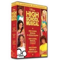 High School Musical gyűjtemény (3 DVD) Díszdobozos