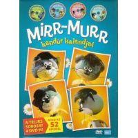 Mirr-Murr kandúr kalandjai 1-4. (4/DVD)