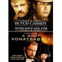 Butch Cassidy és a Sundance kölyök / A nagy vonatrablás (DVD)