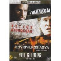 Val Kilmer válogatás (DVD) - A vér utcái / Kettős azonosság / Egy gyilkos agya