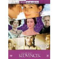 Mozimaraton - Romantikus kedvencek (3 DVD) *Jane Austen magánélete, Az ifjú Viktória királynő, Hercegnő*