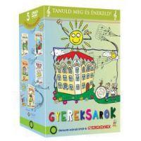 Gyereksarok (Oktató-képző DVD-k gyerekeknek) (5 DVD)