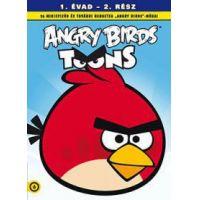Angry Birds Toons: 1. évad, 2. rész - animációs arcok sorozat (DVD)