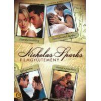 Nicholas Sparks gyűjtemény (Szerencsecsillag + Szerelmünk lapjai + Éjjel a parton + Üzenet a palackban) (4 DVD)