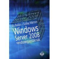 Windows server 2008 rendszergazdáknak