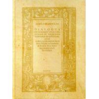 Dialogus, azaz Aurelius Brandolinus dialógusa az emberi sorsról