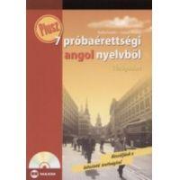 Plusz 7 próbaérettségi angol nyelvből középszint (CD melléklettel)
