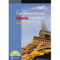 7 próbaérettségi francia nyelvből - középszint (CD melléklettel)