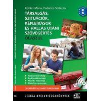 Társalgás, szituációk, képleírások és hallás utáni szövegértés - Olaszul + CD