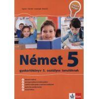 Német 5. - gyakorlókönyv 5. osztályos tanulóknak