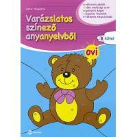 Varázslatos színező anyanyelvből OVI B kötet