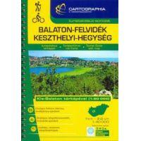 Balaton-felvidék, Keszthelyi-hegység turistakalauz 1:40 000