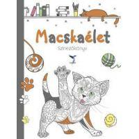 Macskaélet Színezőkönyv