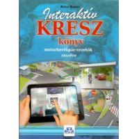Interaktív KRESZ könyv motorkerékpár-vezetők részére