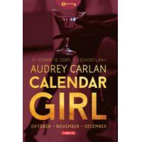 Calendar Girl - Október - November - December