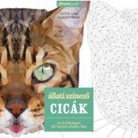 Állati színező - Cicák