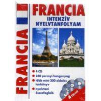 Francia intenzív nyelvtanfolyam - 4 CD-vel