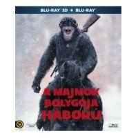 A majmok bolygója - Háború (3D Blu-ray + BD)