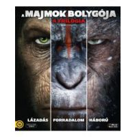 A majmok bolygója - a trilógia (3 Blu-ray)