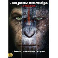 A majmok bolygója - a trilógia (3 Blu-ray) - limitált, fémdobozos változat (steelbook)