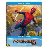 Pókember - Hazatérés (BD3D+Blu-ray) - limitált, fémdobozos változat (steelbook)