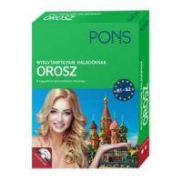 PONS Nyelvtanfolyam haladóknak - Orosz (könyv+CD)