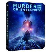 Gyilkosság az Orient Expresszen (2017) - limitált, fémdobozos változat (steelbook) (Blu-ray)