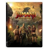 Jumanji - Vár a dzsungel (BD3D Blu-ray + BD) - limitált, fémdobozos változat (steelbook)