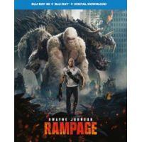 Rampage: Tombolás (3D Blu-ray + BD) (Limitált, fémdobozos változat) *Steelbook*