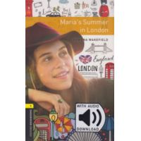 Maria's Summer in London - Oxford Bookworms Library 1 - MP3 Pack