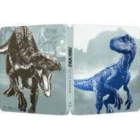 Jurassic World: Bukott birodalom (3DBD+Blu-ray) - limitált, fémdobozos változat (