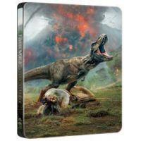 Jurassic World: Bukott birodalom (3D Blu-ray+BD) - limitált, fémdobozos változat (