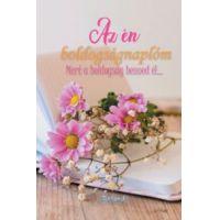 Az én boldogságnaplóm (virágos borító)