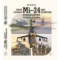 Magyar felségjelű Mi-24 harci helikopterek