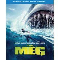 Meg- Az Őscápa (3D Blu-ray + BD)  limitált, fémdobozos változat (steelbook)