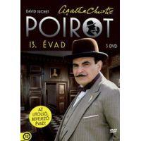Agatha Christie-Poirot-Teljes 13. évad (3 DVD) *Új kiadás*
