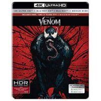 Venom (UHD+3D Blu-ray+BD+bonus BD) - limitált, fémdobozos változat (