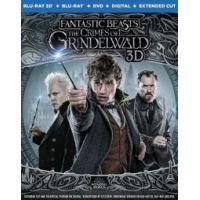 Legendás állatok - Grindelwald bűntettei (3D Blu-ray + BD) *Limitált, fémdobozos változat*