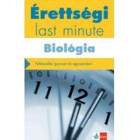 Érettségi - Last minute - Biológia