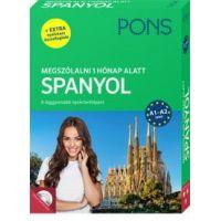 PONS Megszólalni 1 hónap alatt - Spanyol (könyv + CD)