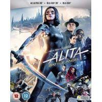 Alita: A harc angyala (4K UHD+3D Blu-ray+BD) - limitált, fémdobozos változat (steelbook)