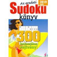 Az eredeti Sudoku könyv - 2019 nyár