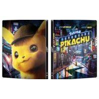 Pokémon - Pikachu, a detektív (3D Blu-ray) - limitált, fémdobozos változat (steelbook)