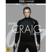 James Bond - Daniel Craig Bond-gyűjtemény (4 UHD + 4 Blu-ray)