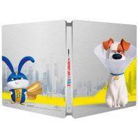 A kis kedvencek titkos élete 2. (3D Blu-ray + BD) - limitált, fémdobozos változat (steelbook)