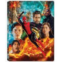Pókember: Idegenben (4K UHD + Blu-ray) - limitált, fémdobozos változat ( szereplők montázs steelbook)