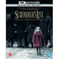 Schindler listája 25. évforduló (4K UHD + Blu-ray)