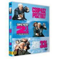 A Csupasz pisztoly trilógia (3 DVD)